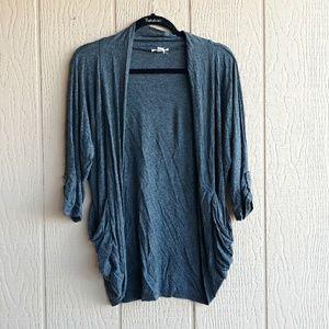 Zenana gray cardigan size L